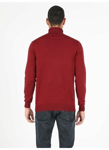 Colin's Slim Fit Balikci Erkek Kırmızı Kazak Kırmızı